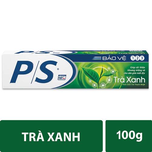 Kem đánh răng P/S trà xanh 100g