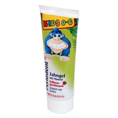Kem đánh răng trẻ em Perlodent nuốt được