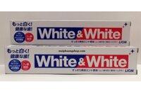 Kem đánh răng White & White Lion - 150 g