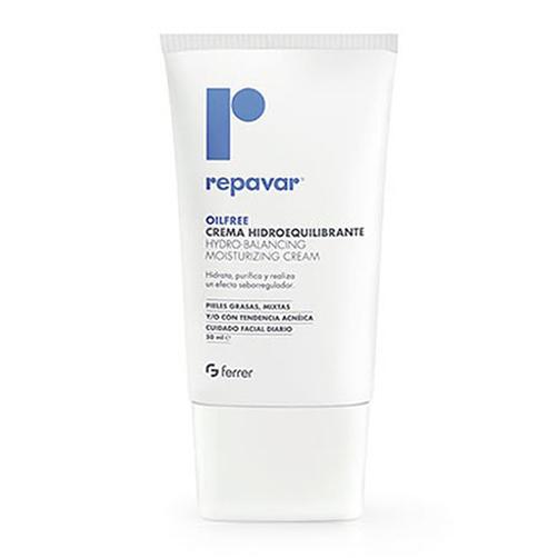 Kem dưỡng ẩm cân bằng cho da nhờn mụn Repavar Olifree Hydro Balancing Moisturizing Cream 50ml