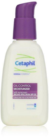 Kem dưỡng ẩm kết hợp chống nắng dành cho da dầu mụn Cetaphil Dermacontrol Oil Control Moisturizer SPF 30 118ml