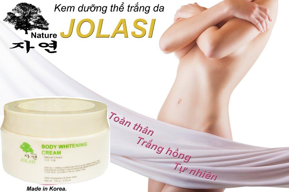 Kem dưỡng ẩm toàn thân Jolasi 100g