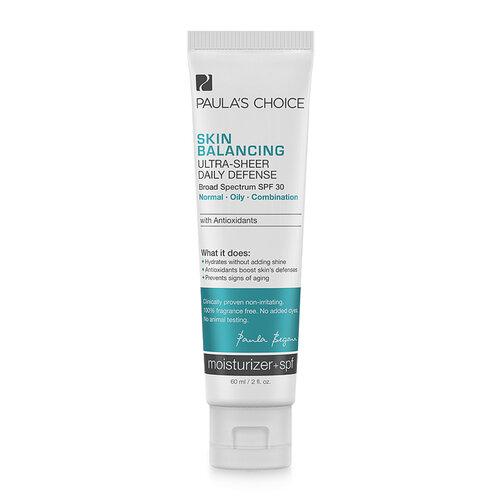 Kem dưỡng bảo vệ và cân bằng da Paula's Choice Skin Balancing Ultra Sheer Daily Defence SPF 30 60ml