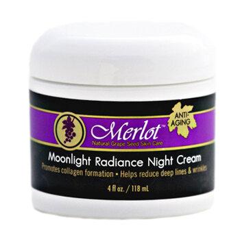 Kem đưỡng da ban đêm chống lão hóa Merlot Moonlight Radiance Night Cream 118ml