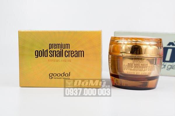 Kem dưỡng da chiết xuất ốc sên Goodal Premium Gold Snail Cream 50ml