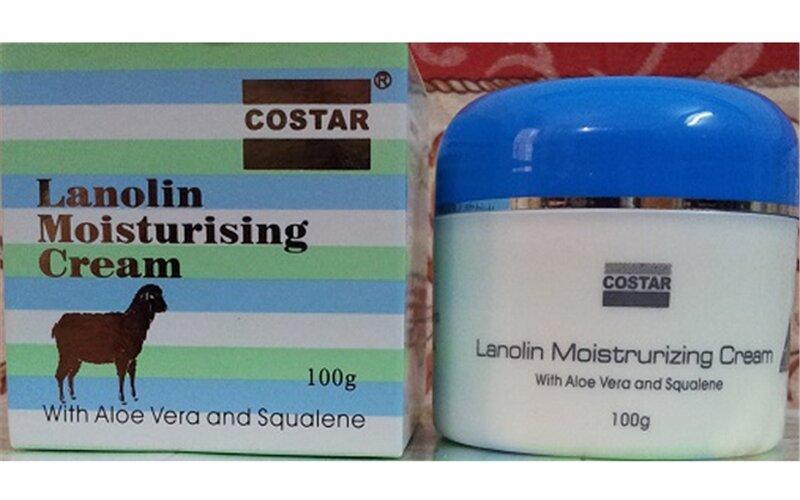 Kem dưỡng da nhau thai cừu và lô hội Lanolin moisturising cream costar