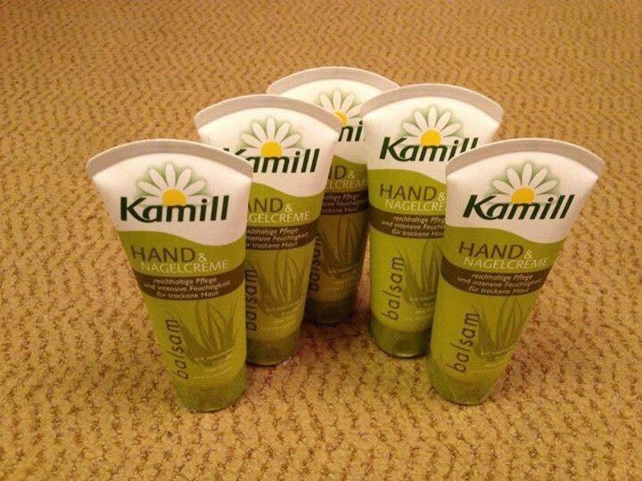 Kem dưỡng da tay hoa cúc Kamill - 100ml