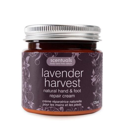 Kem dưỡng da tay và chân Scentuals Lavender Harvest Natural Hand & Foot Repair Cream 125g