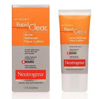 Kem dưỡng da trị mụn Neutrogena Rapid Clear Acne Defense Face Lotion 50ml