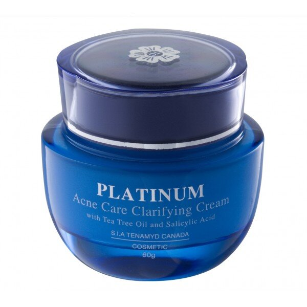 Kem dưỡng đặc trị mụn Tenamyd Platinum Acne Care Clarifying Cream 60g