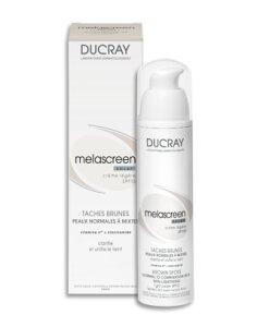 Kem dưỡng giúp tái tạo và phục hồi làn da Ducray Melascreen Eclat Lightening Light Cream SPF15