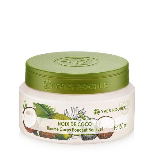 Kem dưỡng thể dừa Yves Rocher Sensual Silky Body Balm 150ml