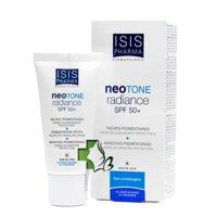 Kem dưỡng trắng da kết hợp chống nắng Isis Pharma Neotone Radiance SPF 50+ 30ml