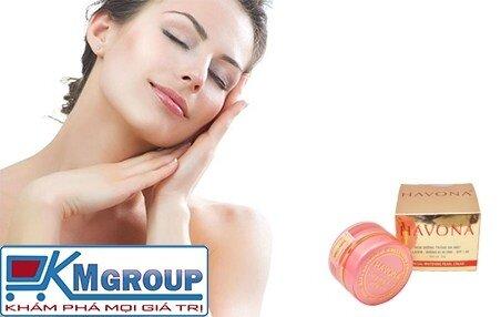Kem dưỡng trắng da mặt Collagen Havona SPF 30