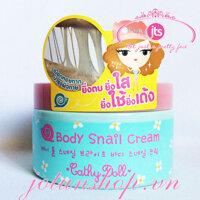 Kem dưỡng trắng da toàn thân Body Snail Cream