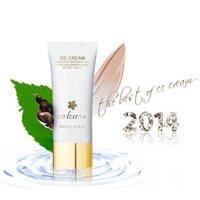 Kem dưỡng trắng da, trang điểm chống nắng Sakura CC Cream