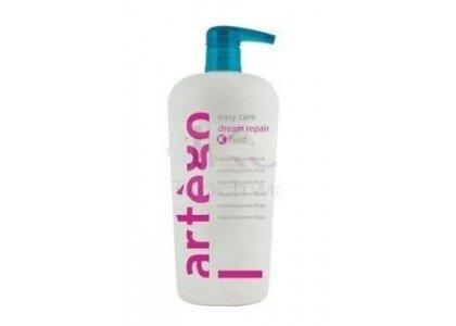 Kem hấp tóc phục hồi và chữa trị tóc hư tổn Keratin K-fluid Artego - 500ml