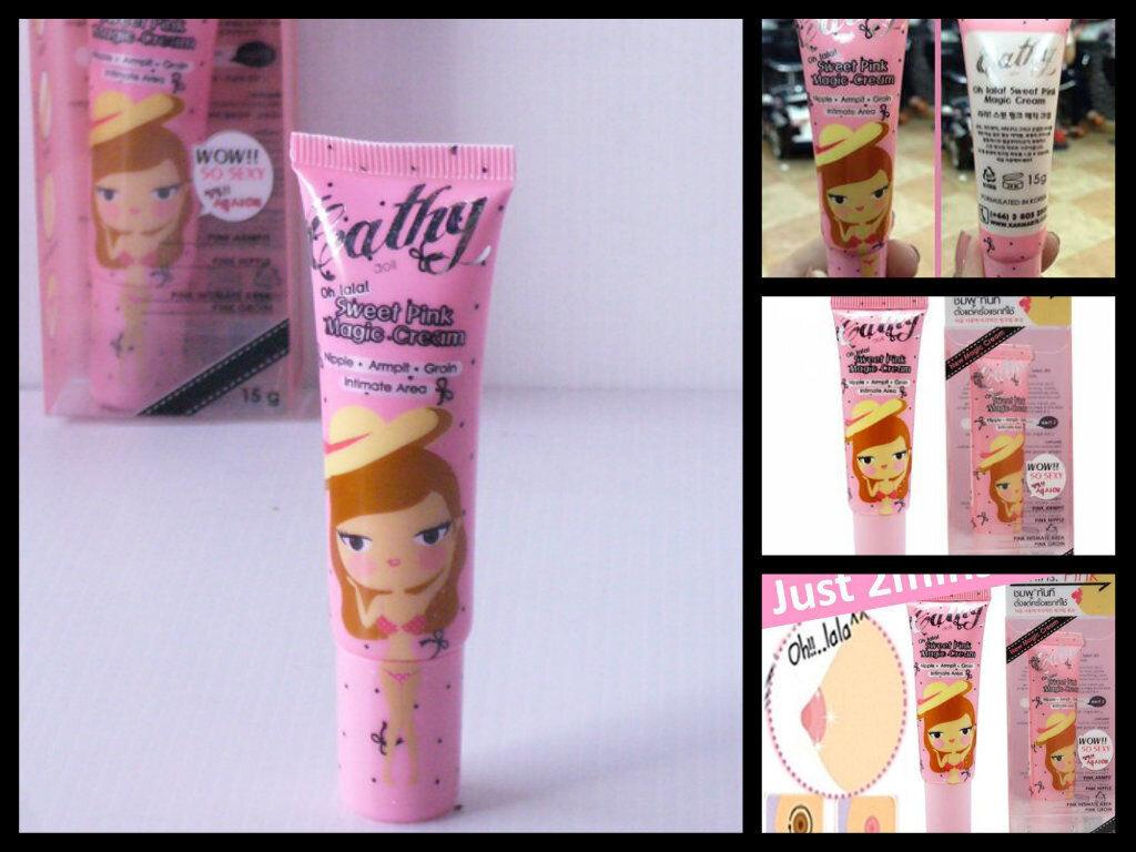 Kem hồng da Sweet Pink Magic Cream Cathy Doll Karmart