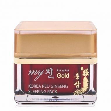 Kem hồng sâm dưỡng trắng da trị nám ban đêm My Gold Korea Red Gingseng Sleeping Pack 50ml