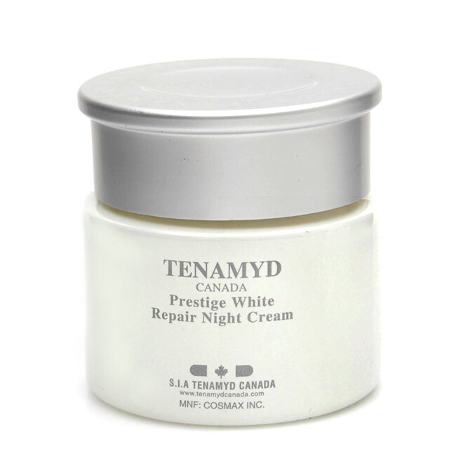 Kem làm trắng da Tenamyd Prestige White Repair Night Cream
