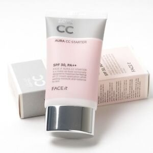 Kem nền CC Aura Starter The Face Shop