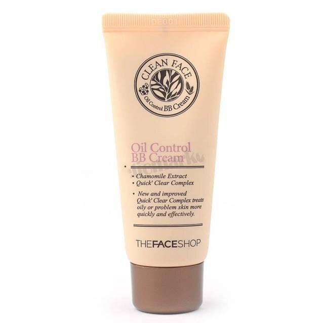 Kem nền cho da dầu và mụn TFS- Clean face oil control BB cream