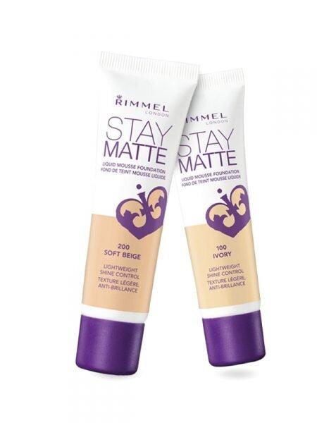 Kem nền Rimmel London Stay Matte Liquid Mousse Foundation