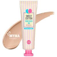 Kem nền Sweet Cotton Pore Cover BB Cream Holika