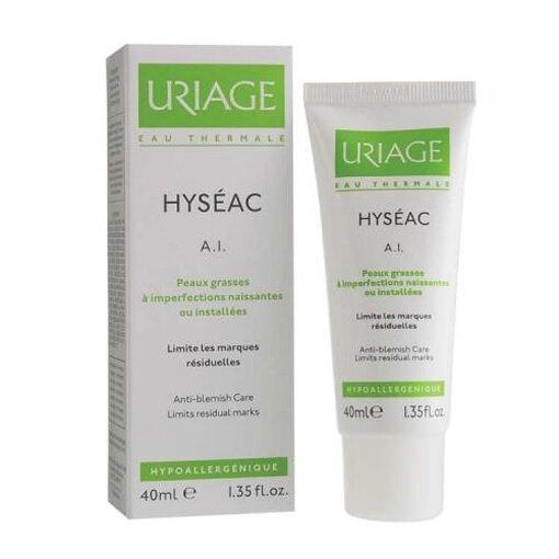 Kem ngăn ngừa mụn, điều tiết nhờn cho da dầu, da mụn Uriage Hyseac K18