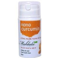 Kem ngăn ngừa mụn Nano Curcumin