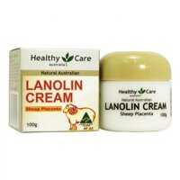 Kem nhau thai cừu Healthy Care Lanolin Cream With Sheep Placenta 100g