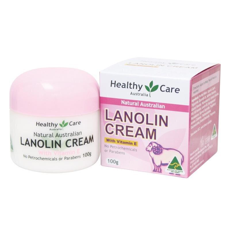 Kem nhau thai cừu, Vitamin E Lanolin Cream With Vitamin E 100g, Úc