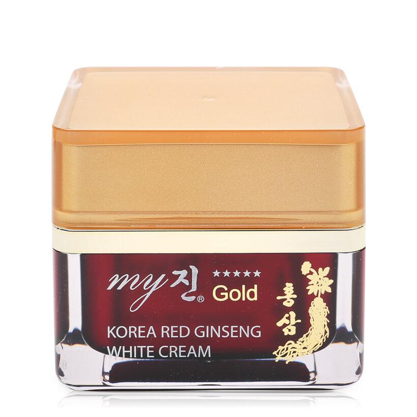 Kem sâm dưỡng trắng da My Jin Gold Korea Red Ginseng White Cream 50ml