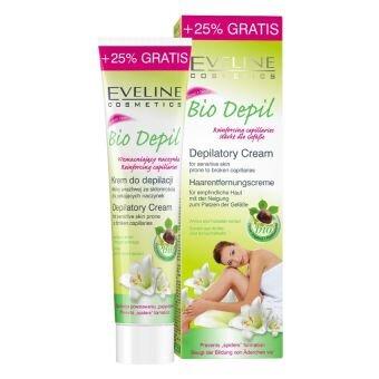 Kem tẩy lông dành cho da nhạy cảm Eveline Bio Depil Depilatory Cream For Sensitive Skin 125ml