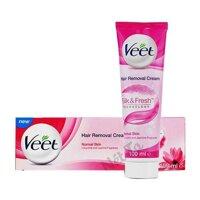 Kem tẩy lông Veet Silk & Fresh 100ml