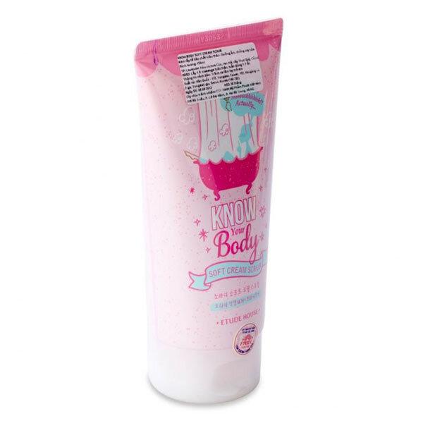 Kem tẩy tế bào chết toàn thân Etude House Know Your Body Soft Cream Scrub 150ml