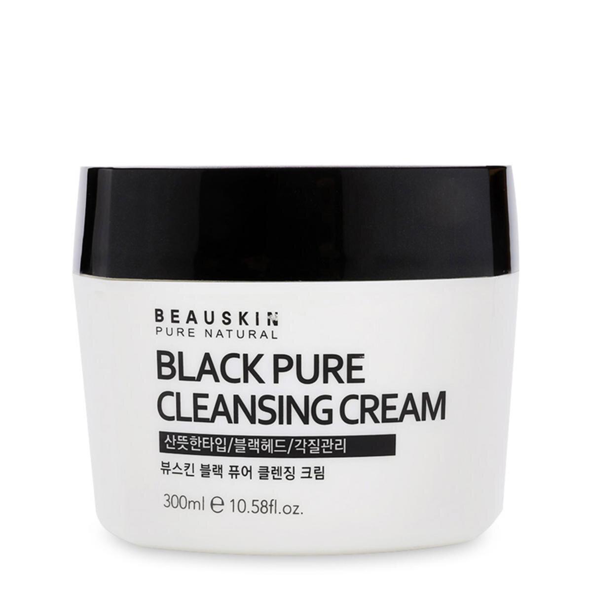 Kem tẩy trang Beauskin Black Pure Cleansing Cream 300ml