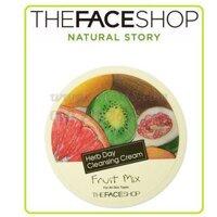 Kem tẩy trang Herb Day Cleansing Cream Fruit Mix 150ml