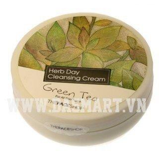 Kem tẩy trang nha đam Herb Day Cleansing Cream Aloe Vera 150ml