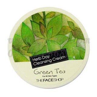 Kem tẩy trang trà xanh Herb Day Cleansing Cream Green Tea 150ml
