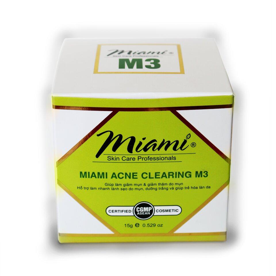 Kem trị mụn Miami Acne Clearing M3