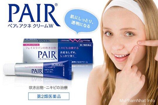 Kem trị mụn Pair Acne W Cream