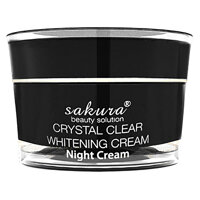 Kem trị nám, dưỡng trắng da Sakura white night cream