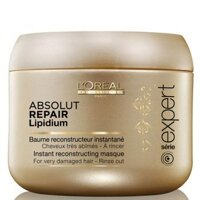 Kem ủ chăm sóc tóc L'OREAL PARIS Serie Expert Absolut Repair Lipidium Masque