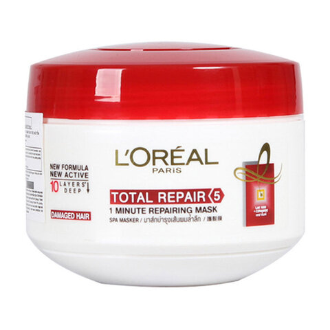 Kem ủ phục hồi tóc hư tổn L'Oréal Total Repair 5 Deep Reparing Mask 200ml