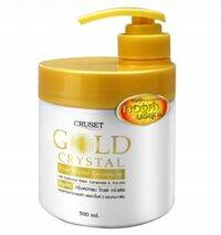 Kem ủ tóc Cruset Gold Crystal 500ml