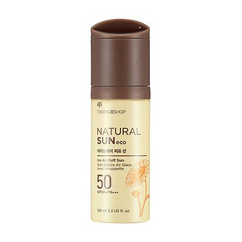Kem xịt chống nắng The Face Shop Natural Sun Eco Ice Air Puff Sun - 100 ml