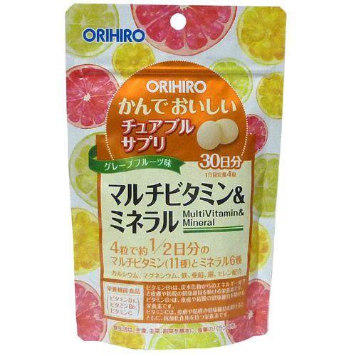 Kẹo bổ sung Vitamin tổng hợp và khoáng chất Orihiro – 120 viên