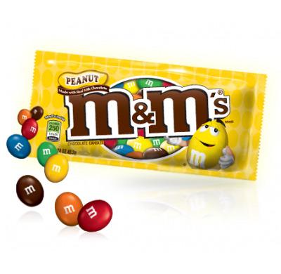 Kẹo Chocolate Peanut MM 49.3g