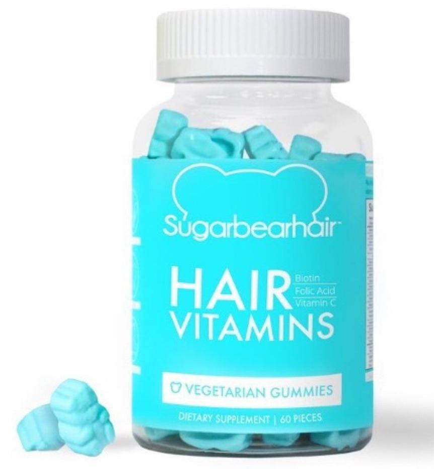 Kẹo dẻo bổ sung vitamin, kích thích mọc tóc SugarBear Hair